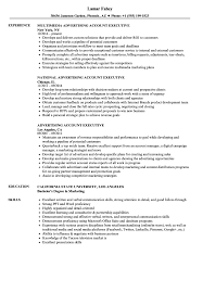 Executive Resume Sample Advertising Account Executive Resume Samples Velvet Jobs 51