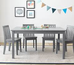 carolina large table 4 chairs set pottery barn kids within and plans 2