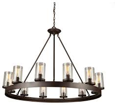 artcraft lighting menlo park 12 light chandelier oil rubbed bronze