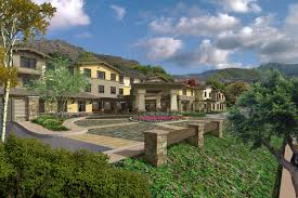 rendering of landscaping around sage mountain in thousand oaks california