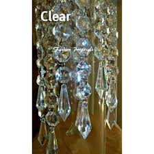 100 hanging crystals acrylic chandelier prism wedding with regard to modern property acrylic crystal chandelier designs