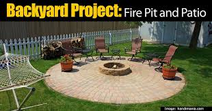 outdoor fire pit and patio extending the entertaining area