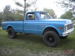 Chevy K20 4x4 3/4 ton c10 c20 gmc pickup fuel injected