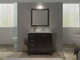 Ace Cambridge 37 inch Single Sink Bathroom Vanity Set Right