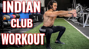 1 indian club exercise workout routine full body