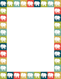 Small Picture Elephants in squares of various colors Free downloads available