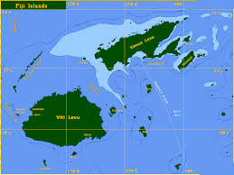 seajester seajester map of fiji islands south pacific ocean