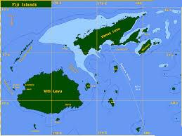 seajester seajester map of fiji islands south pacific ocean