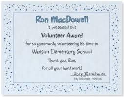 Volunteer Certificates Creating A Memorable Volunteer Certificate Paperdirect Blog