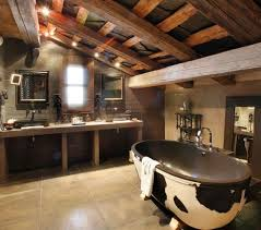Rustic Bathroom Design Simple Decoration