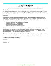 Unusual Manager Resume Cover Letter Leading Professional Brand