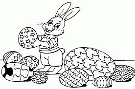 25 Nieuw Paashaas Met Eieren Kleurplaat Mandala Kleurplaat Voor