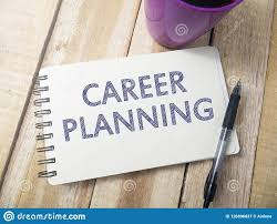 Career Planning Motivational Inspirational Quotes Stock Image