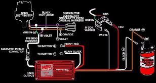 msd distributor wiring diagram wiring diagram and hernes msd 6al wiring diagram chevy hei wire
