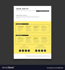 Resum Form Cv Form Template Professional Resume Stylish