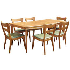 mesmerizing heywood wakefield dining table and chairs 8671 1 home design