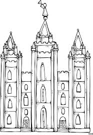 Lds Temple Coloring Page Book Entrancing Lds Pages