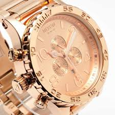 nixon a083 897 51 30 gold coolwatch31 new nixon watch mens 51 30 chrono all rose gold a083897 a083 897