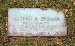 Mahlon B Spencer (1921-1960) - Find A Grave Memorial