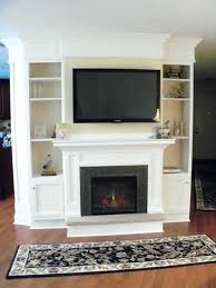 electric fake fireplace logs best built in entertainment center with faux fire