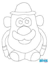 Small Picture Mr potato coloring pages Hellokidscom