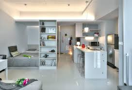 Modern Small Apartment Bedroom Ideas  Living In A Small Apartment Design For One Room Apartment