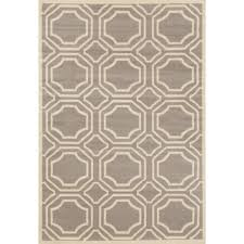 world rug gallery modern geometric gray 8 ft x 9 ft area rug