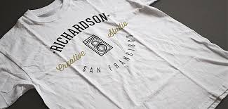 T Shirt Template Interesting 44 Awesome TShirt Templates And Mockups For Your Clothing Line