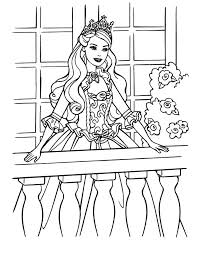 Small Picture Barbie princess coloring pages coloring pages for kids online