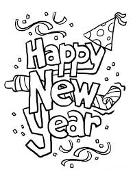 Small Picture happy new year coloring sheets happy new year coloring pages to