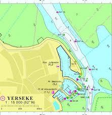 18057a Yerseke Marine Chart Nl_18057a Nautical