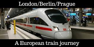 traveling by train london berlin prague