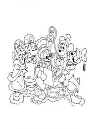 Small Picture Printable Disney Christmas Coloring Pages Disney Coloring Pages