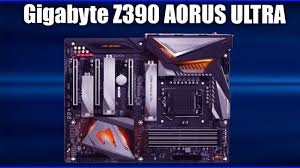<b>Материнская плата Gigabyte Z390</b> AORUS ULTRA - YouTube