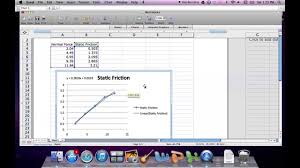 how to find the slope using excel