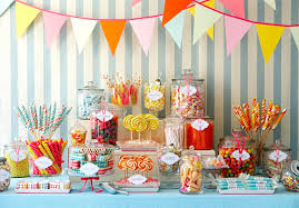 ... Party Table Ideas For Decoration Spring Party Candy Table The Best  Spring Party ...