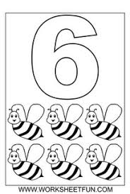 Small Picture Number Coloring Pages Counting 1 to 10 Pinterest Numbers