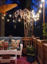 Outdoor: Small Patio String Lighting Ideas - String Lights Ideas