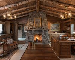 home office cabin. Brilliant Home 18 Great Cabin Home Office Design Ideas In Rustic Style For G