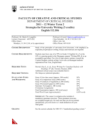 engl faculty of creative and critical studies
