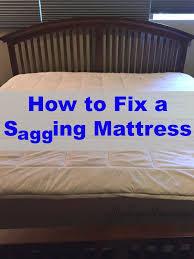 old mattress.  Old Fixasaggingmattress For Old Mattress