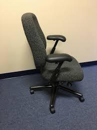 Herman Miller Desk Chair Grey Upholstered Adjustable
