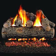 peterson real fyre 48 inch golden oak designer plus outdoor log set with vented natural gas stainless g45 burner match light gas log guys