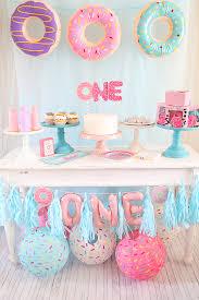 donut first birthday party fun365