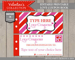 personalized coupon books anuvrat info love coupon book