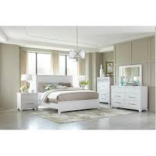 Contemporary White 4 Piece Queen Bedroom Set - Utopia | RC Willey ...