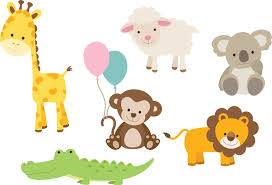 baby zoo animals nursery. Beautiful Nursery Animal Wall Decal Printed Set On Baby Zoo Animals Nursery World