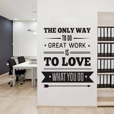 office deco. Office Decor Typography Inspirational Quote Wall Decoration Art Office Deco D