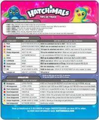 Hatchimals Twins Color Chart Hatchimals Twins Color Chart Hatchimals Meanings Of Color