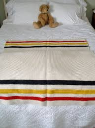 crochet hudson bay blanket